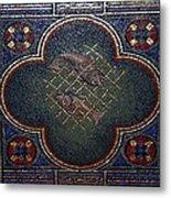 Feed The Hungry Mosaic - St Louis Basilica Metal Print