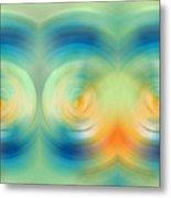 Feel Joy - Energy Art By Sharon Cummings Metal Print