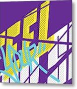 Feel Your Pulse 3 Metal Print