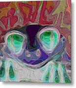 Feeling Froggy V2 Metal Print