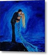 Feeling Safe In Your Arms Metal Print