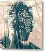 Feeling The Forest  Metal Print