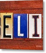 Felix License Plate Name Sign Fun Kid Room Decor Metal Print