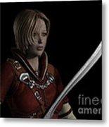 Female Ranger Portrait Metal Print