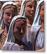 Female Statues Metal Print