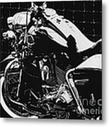 Fenced In At Indy Flhr Metal Print