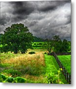Fenced Out Metal Print