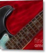 Fender-9657-fractal Metal Print