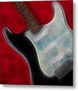 Fender-9668-fractal Metal Print