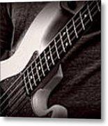 Fender Bass Metal Print
