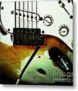 Fender Detail  Metal Print