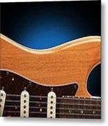 Fender Stratocaster Curves Metal Print