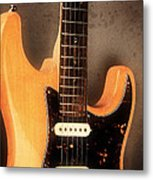 Fender Stratocaster Electric Guitar Metal Print