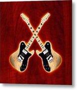 Fender Telecaster Custom Metal Print