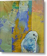 Feng Shui Parakeets Metal Print by Michael Creese
