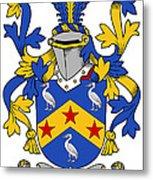 Fennell Coat Of Arms Irish Metal Print