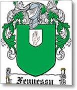 Fennessy Coat Of Arms Irish Metal Print