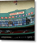 Fenway Memories - 2 Metal Print