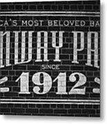 Fenway Park Boston Ma 1912 Sign Metal Print