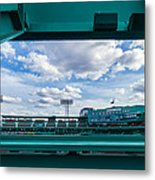 Fenway Park From The Green Monster Metal Print