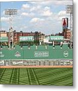 Fenway Park Green Monster 1 Metal Print