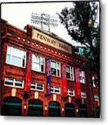 Fenway Park In October 2013 Metal Print