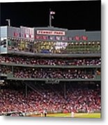 Fenway Park Metal Print by Juergen Roth