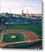 Fenway Park Photo - Inside View Metal Print by Horsch Gallery