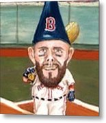 Fenway's Garden Gnome Metal Print by Jack Skinner