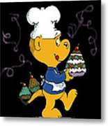 Ferald's Goodies Metal Print