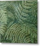 Fern Frenzy Metal Print by Joann Renner