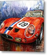 Ferrari 250 Gto 1963 Metal Print