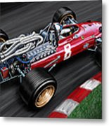 Ferrari 312 F-1 Car Metal Print