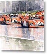 Ferrari 312 Pb Daytona 6 Hours 1972 Metal Print