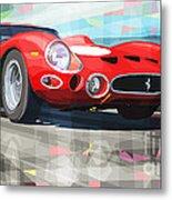 Ferrari 330 Gto 1962 Metal Print