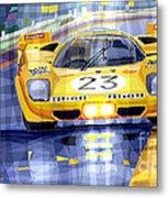 Ferrari 512 S Spa 1970 Derek Bell  Metal Print by Yuriy  Shevchuk