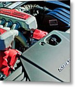 Ferrari 599 Gtb Engine Metal Print