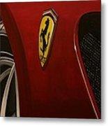 Ferrari 599 Gtb Fiorano Metal Print