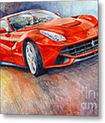 2014 Ferrari F12 Berlinetta  Metal Print