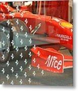 Ferrari Formula One Metal Print