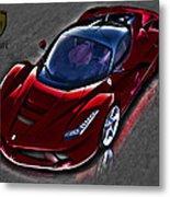 Ferrari Metal Print