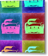 Ferrari Pop Art 2 Metal Print