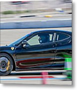 Ferrari Racing Metal Print
