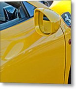 Ferrari Side Emblem Metal Print