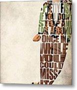 Ferris Bueller's Day Off Metal Print by Ayse Deniz