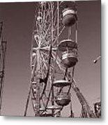 Ferris Wheel 1 Metal Print