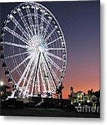 Ferris Wheel 19 Metal Print