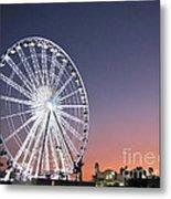 Ferris Wheel 21 Metal Print
