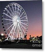 Ferris Wheel 22 Metal Print