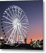 Ferris Wheel 23 Metal Print